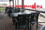 Градинска маса за кафене, произведена от пластмаса