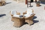Качествена мебел от естествен ратан за заведение