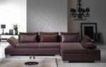 Поръчкова изработка на луксозни ъглови дивани с лежанка