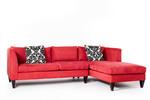 Стилно обзавеждане за ъглови дивани с лежанка