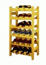 изработване на дървени стелажи за вино
