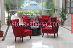 производство на луксозна мека мебел за заведения